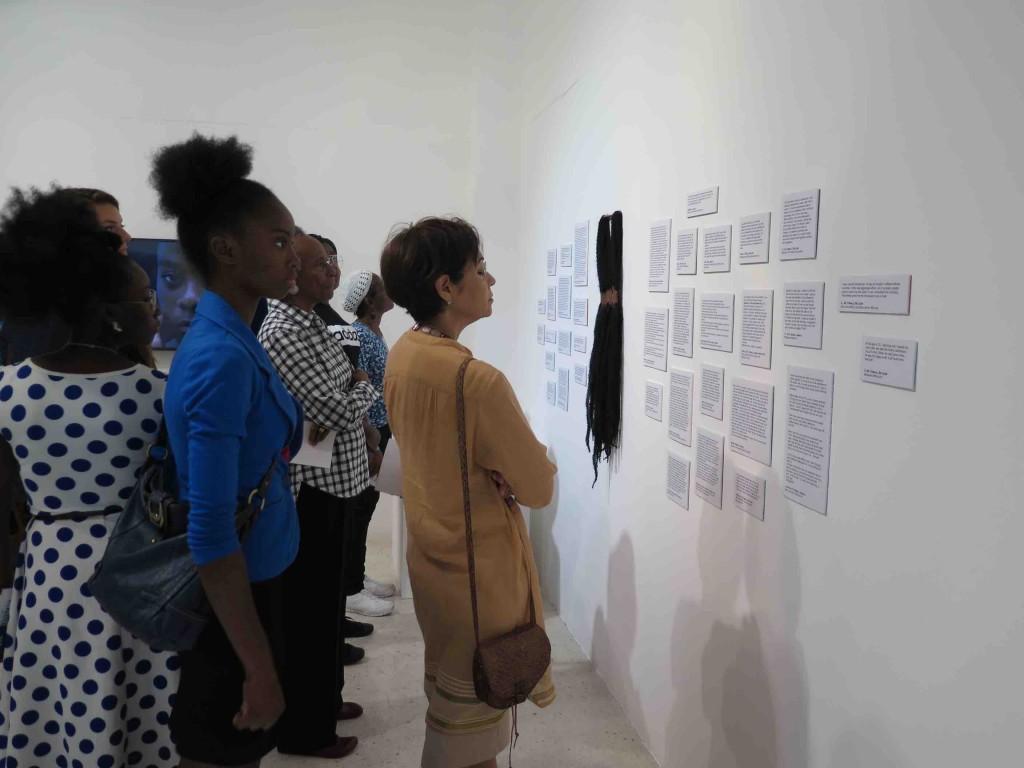 Jamaica Biennial 2017 - Hair Project - Hair Dress  /  Hair Stories