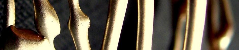 entrelacs de Myriam (détail), argent, 2006, adopté