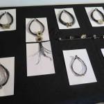Burkina 2015, necklaces, bronze, leather