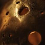 planète lumineuse, bronze, 2009