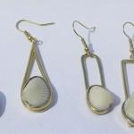 Fragile Jamaica, shells, earrings, 2015