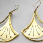 Collection Papyrus, Earring, Brass, 2019