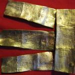 h&v (pendentif), bronze, 2010