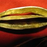 2 pendants (détail), bronze, 2009