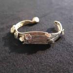 Magic Mushroom, bracelet, bronze, 2015
