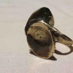 Magic Mushroom, ring 2 big mushroom, bronze, 2015