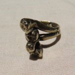 Magic Mushroom, ring, bronze, Burkina 2015 10 face l