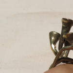 Magic Mushroom, ring, bronze, Burkina 2015 9 porte 2 l