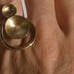 """ring, """"Planets"""", périphélie/perihelion, brass, 2013"""