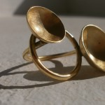 "ring, ""Planets"", orbit, brass, 2013"