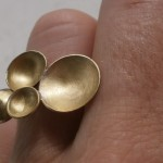 "ring, ""Planets"", nebula, brass, 2013"