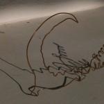 Bestiaire électrique / le crocodile de Brieuc 2012