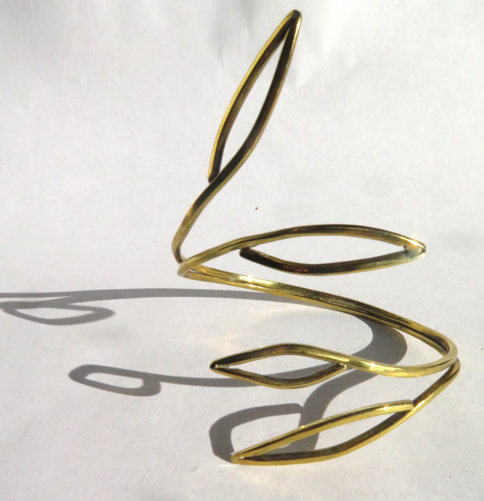 Collection Leave, bangle, 2018