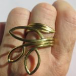 Collection Leave, ring, 2018