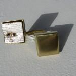 ring, Fragile Jamaica, cactus from Treasure Beach, cactus, feuille d'argent, laiton, 2012
