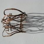 bracelet, electric jamaica, love calder, cuivre, 2012