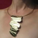 Languette, laiton et bronze, 2011