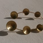 earring, Planets,Ecliptic, brass, 2013