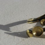 "ring, ""Planets"", meeting of 2 world ""3"", brass, 2013"