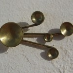 "earring, ""Planets"", solaire, brass, 2013, 1"