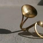 ring, Planets, constellation, brass, 2013