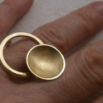 ring, Planets, eclipse, brass, 2013