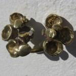 "ring, Africa, ""eucalyptus"", bronze, 2013"