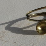 "ring ""Planets"", sunrise sunset, brass, 2013"