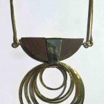 Fragile Jamaica, necklace, Lignum vitae, 2020
