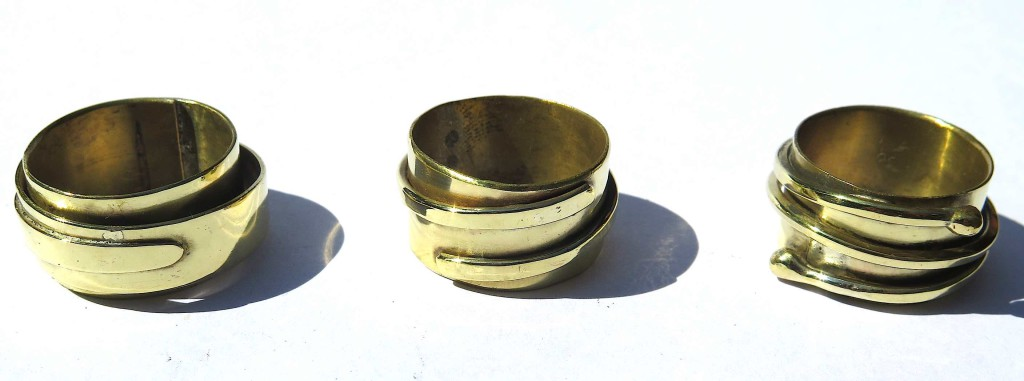 For Men, The Boy and the Magpie, Rings, Brass, 2016